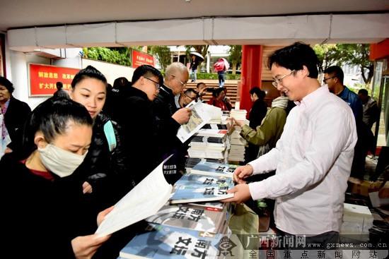 文化进万家广西文艺志愿服务活动走进凤岭北社区