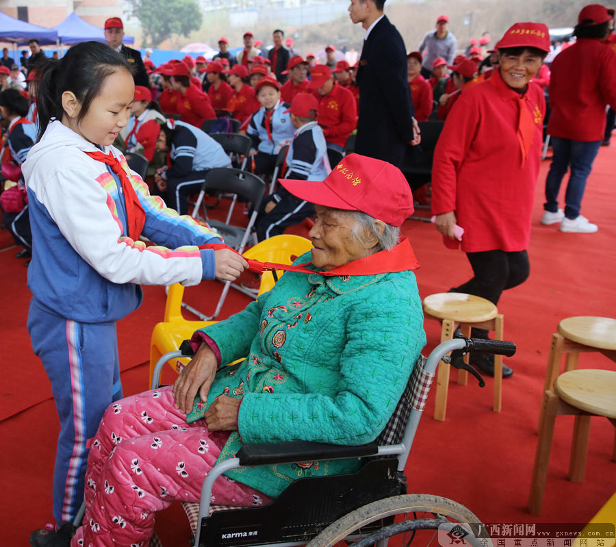 广西革命纪念馆举行仪式接收林景云烈士文物(图)