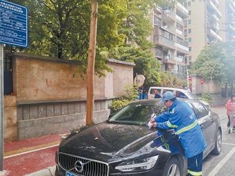春节南宁路边停车 可享累计2小时免费