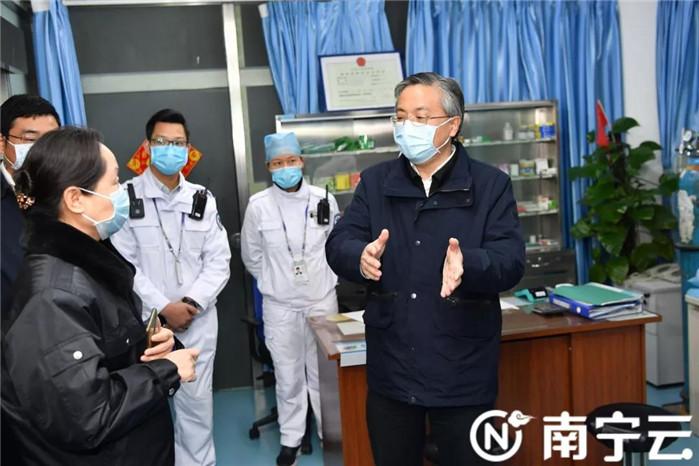 周红波率队检查新型冠状病毒感染的肺炎疫情防控工作