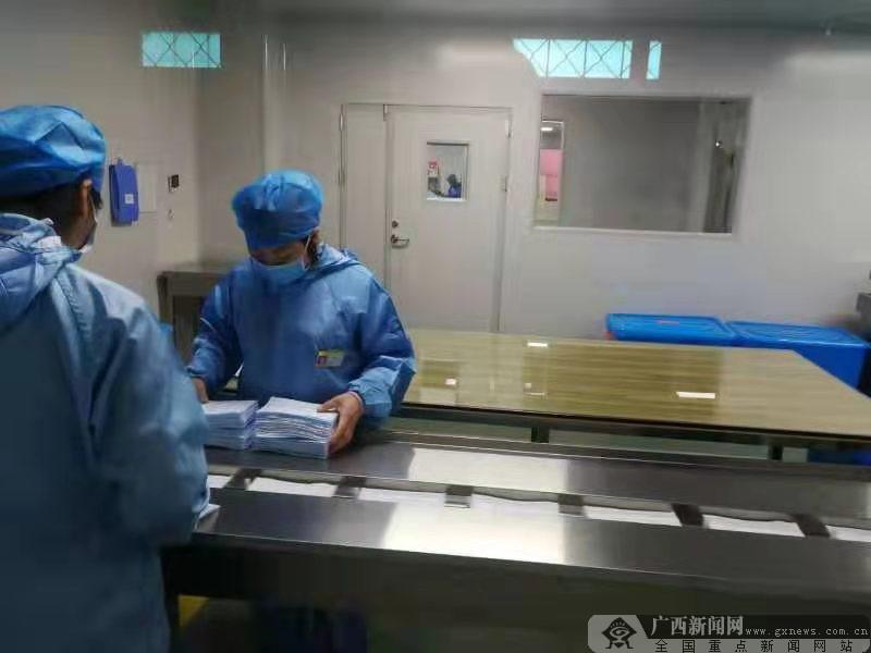 南宁全力有序推进疫情防控物资保障 帮助企业复工(三)