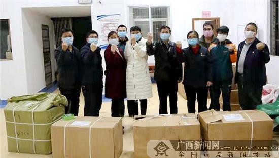 邮政担当!贺州邮政为贺州市运回一批防疫物资