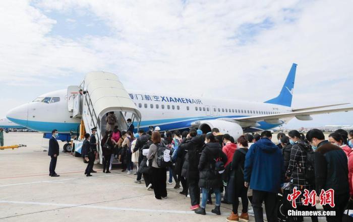 中国民航局两天内协调47架包机 6
