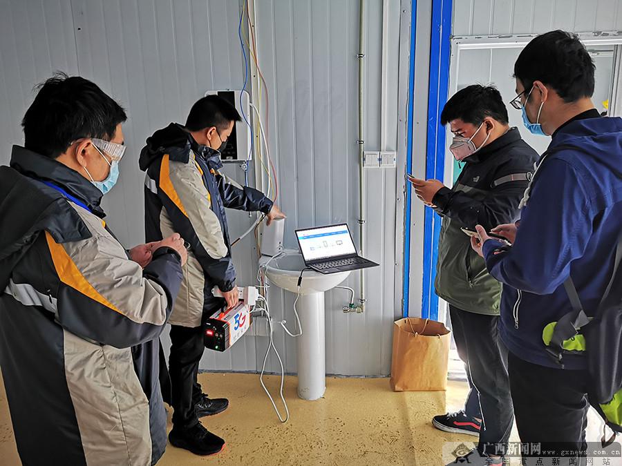 """广西版""""小汤山""""医院5G网络建设项目率先交付"""