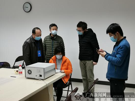 """桂林市场局:防疫物资生产企业架设""""桂林通道"""""""