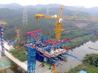 广西首条设计时速350公里客运专线复工