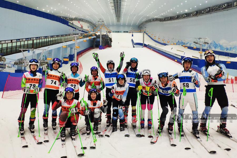 2019年广西竞技体育冬季运动项目取得历史性冲破