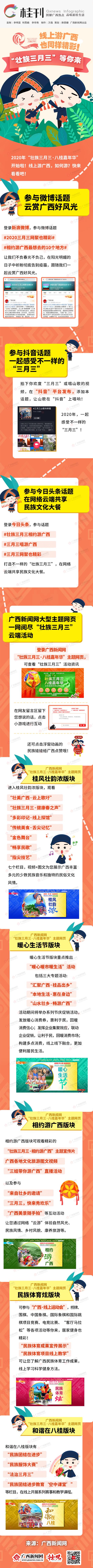 """【桂刊】线上游天天娱乐,天天娱乐大厅:同样精彩!""""壮族三月三""""等你来"""