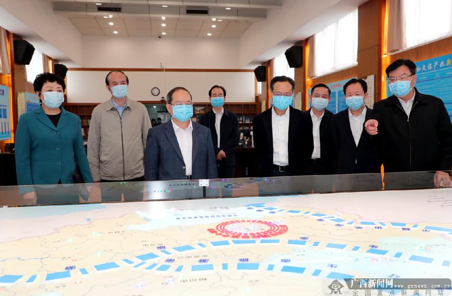 鹿心社陈武在大健康和文旅产业工程指挥部调研