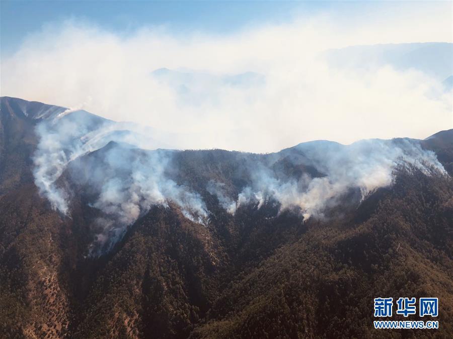 四川木里县森林火灾扑救仍在进行 已启动三级响应