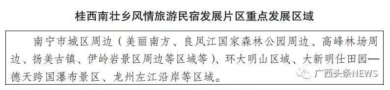 目标60亿元!广西旅游民宿要有大发展,这些地方将受益