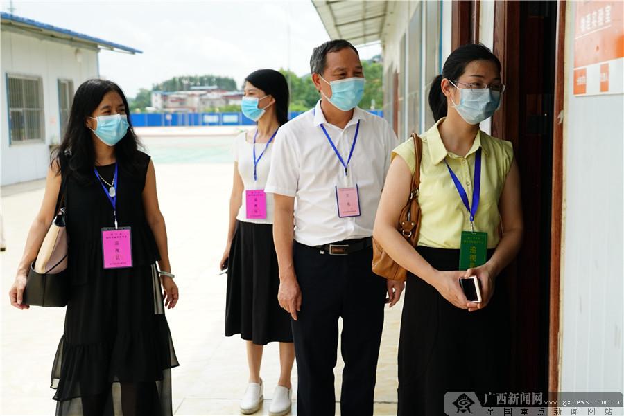 南宁市仙葫学校2020年中考理化实验操作考试圆满落幕