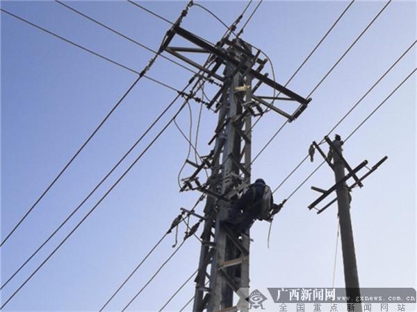 凭祥暴雨后检查电路设备