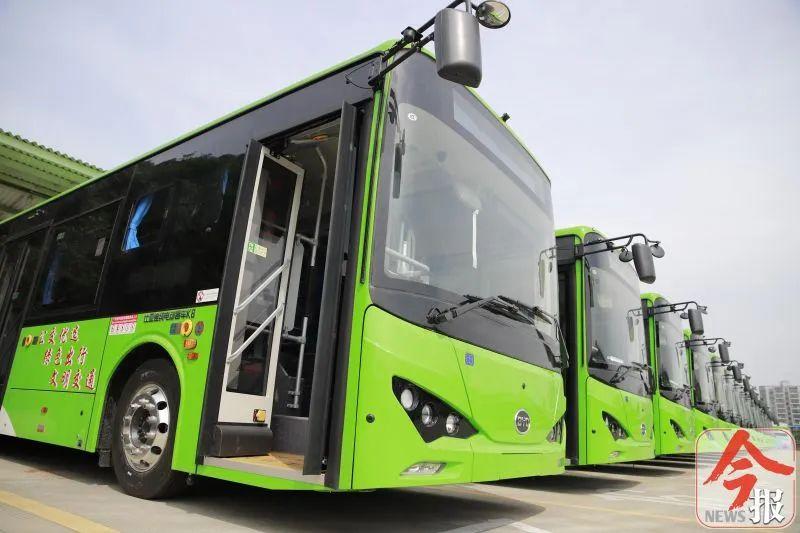 95辆新能源公交车将
