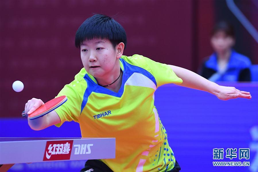 2020全国乒乓球锦标赛:河北队获得女子团体冠军-广西新闻网