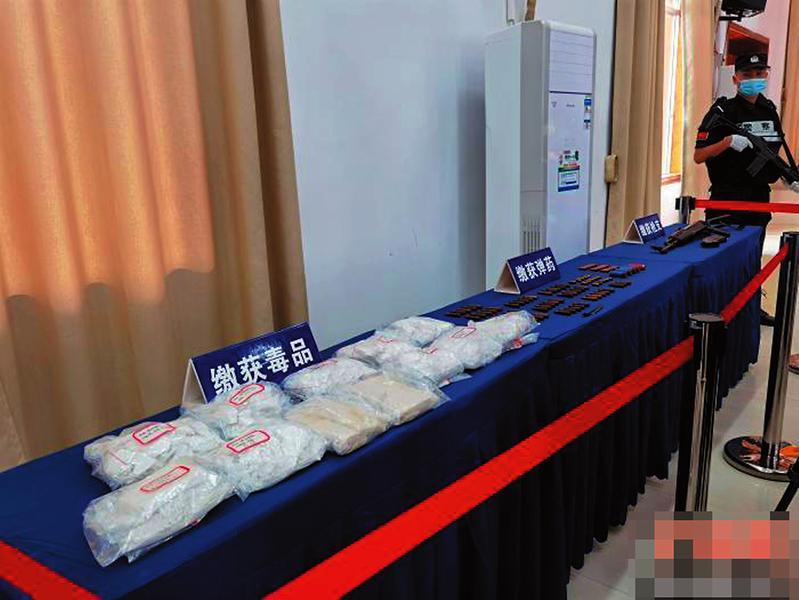桂粤警方携手破获一起特大跨国毒品案