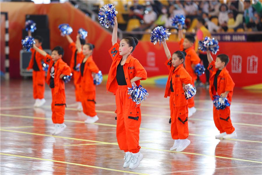 南湖学区第二届体育运动季炫彩开幕