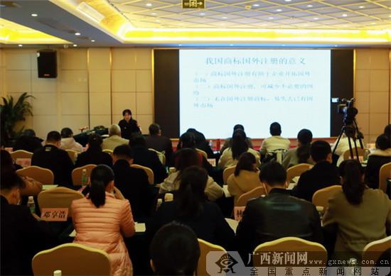 广西企业品牌法务研习班以案释法 探讨