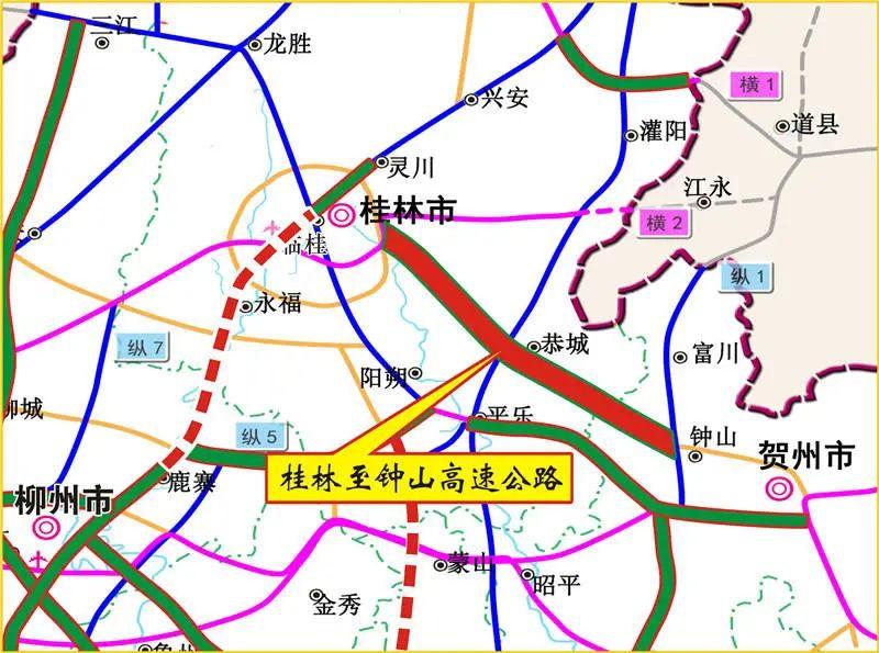 好消息!广西两条高速公路同时开工建设,就在……