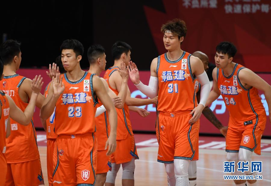 CBA第二阶段:福建豹发力胜上海久事