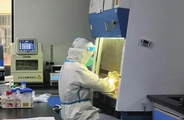 24小时轮岗检测分秒必争 记者探访核酸检测实验室