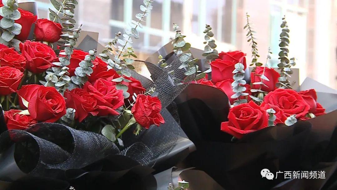 情人节送花不走心?今年情人节花价竟然贵了一倍