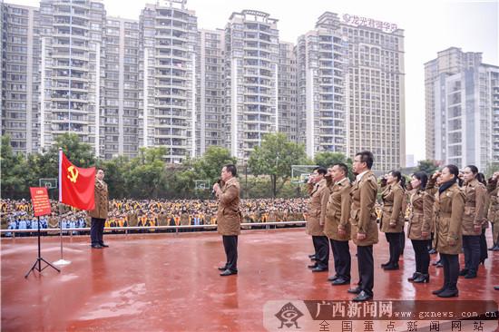 南宁市凤翔路小学隆重举行2021年春季学期开学典礼