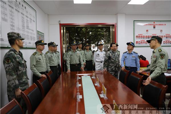 防城港军分区组织召开第一季度抓建基层现场会议