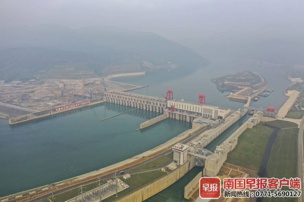大藤峡水利枢纽试通航满一年(图)