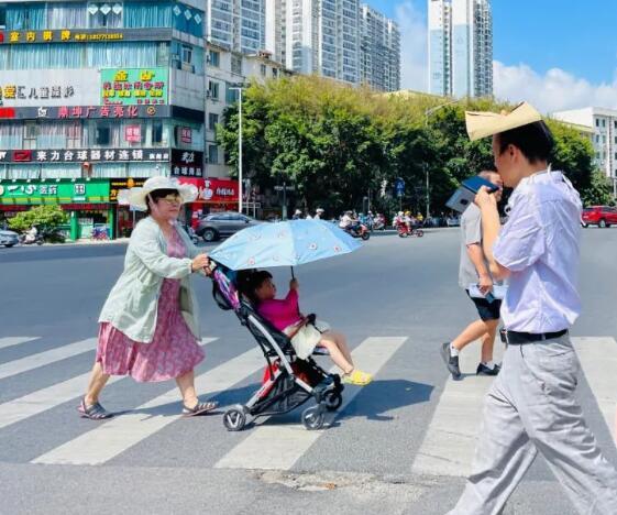广西一地高温突破40℃!强降雨将至 暑热要下线了