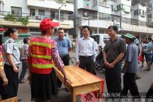 邕宁:增设临时停车位 加强规范管理