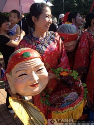 南宁邕宁壮族八音文化旅游节开幕 现场签一批项目