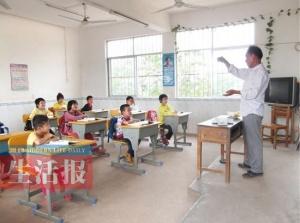 那利小学一教学点老师更换频繁