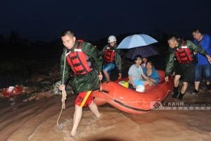 钦州遭遇最强暴雨