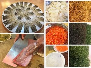 媒体探品牌桂菜之横县鱼生:原始饮食的华丽转身