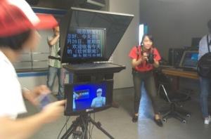 探秘钦州广播电视台的台前幕后