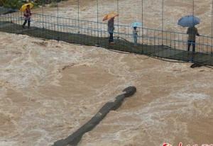 如发生大洪水能否化险为夷?