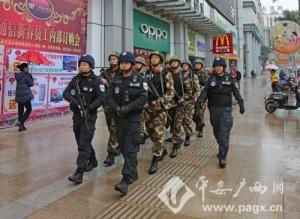 南宁警方立体化巡防维护社会和谐稳定