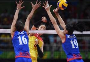 快讯:中国队获得里约奥运会女子排球金牌