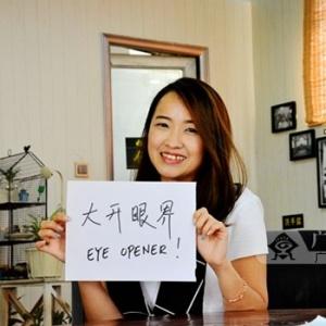 马来华裔Eva:东博会让更多中国人爱上我的美食