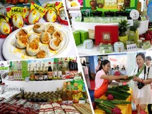 高清组图:农业展上的特色农产品受青睐