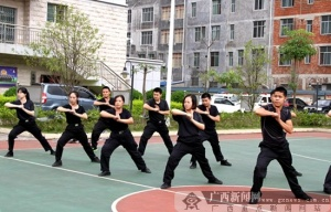 那坡:秋季练兵促法警能力提升