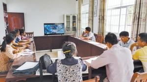 巷贤镇依托远程教育平台开展科普活动