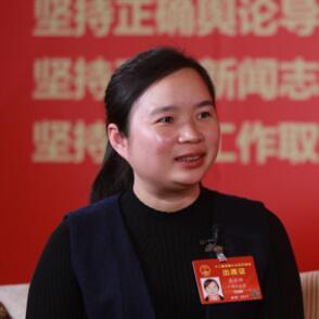 梁丽娜代表:陆川猪让农民发家致富