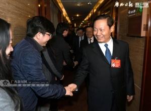 彭清华陈武看望慰问全国两会新闻工作者