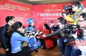 广西主要新闻单位聚融媒体之力做好全国两会报道