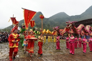 上林塘红乡第十二届龙母文化节隆重举行