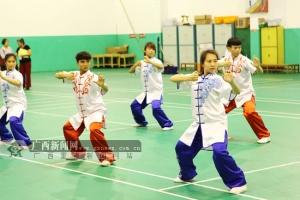 [我要上全运]广西完成全运群众项目健身气功选拔