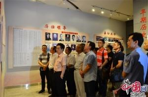 著名书画家走基层慰问南宁公安民警