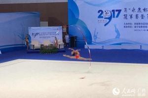 广西艺术体操队闯入全运会决赛